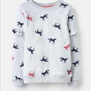 NWT Joules Unicorn Sweatshirt